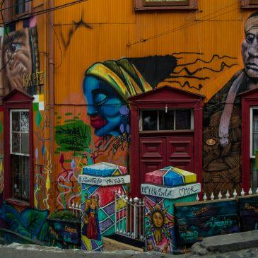 Street art en Valparaíso, los mejores murales de Chile