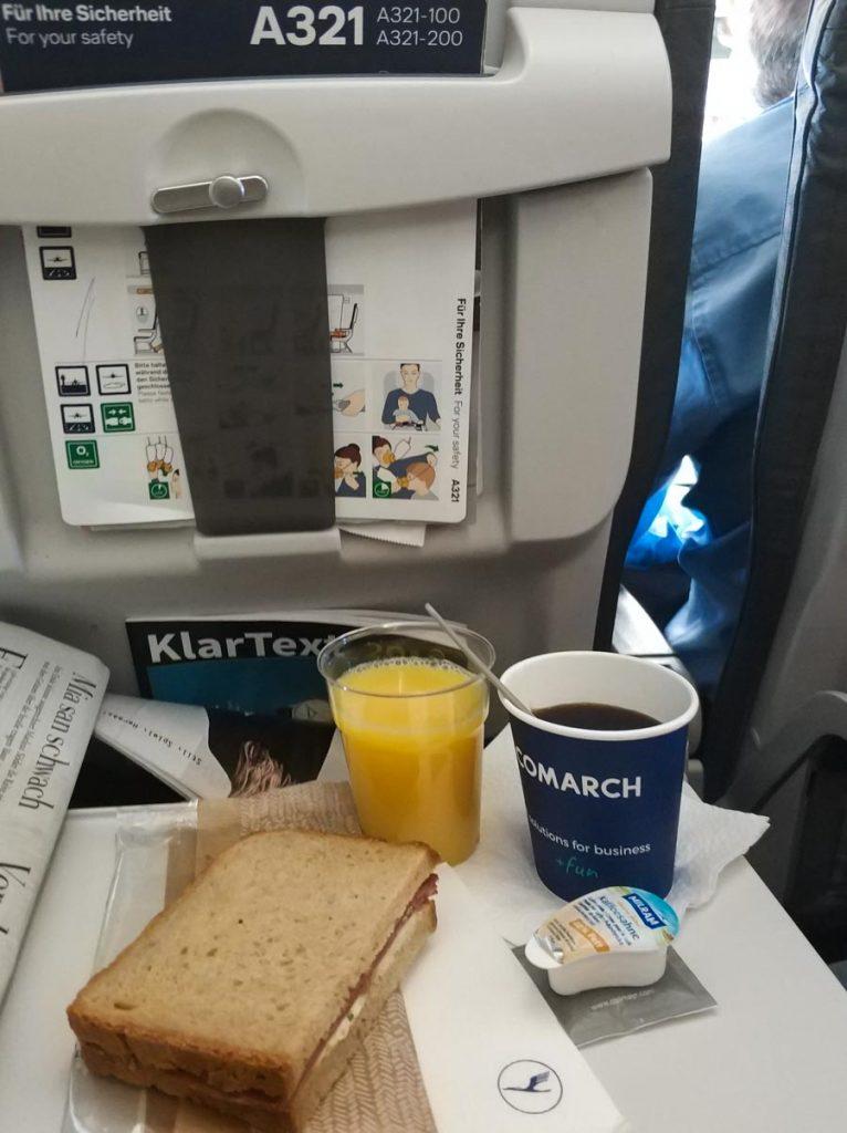 Servicio a bordo de Lufthansa
