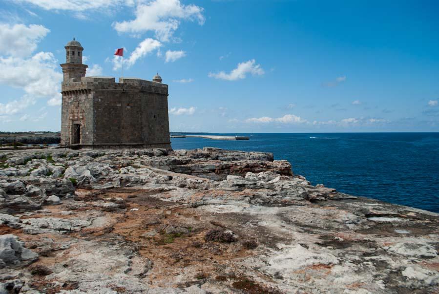 Castell de Sant Nicolau en Ciudadela