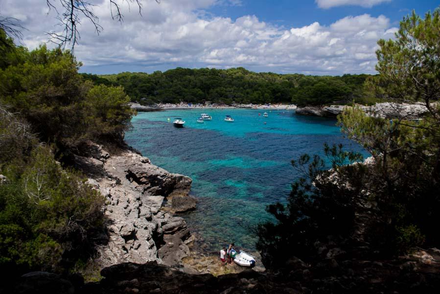 Cala en Turqueta, en Menorca