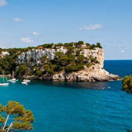 La cala Galdana en Menorca