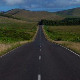Carreteras en Flores, Azores