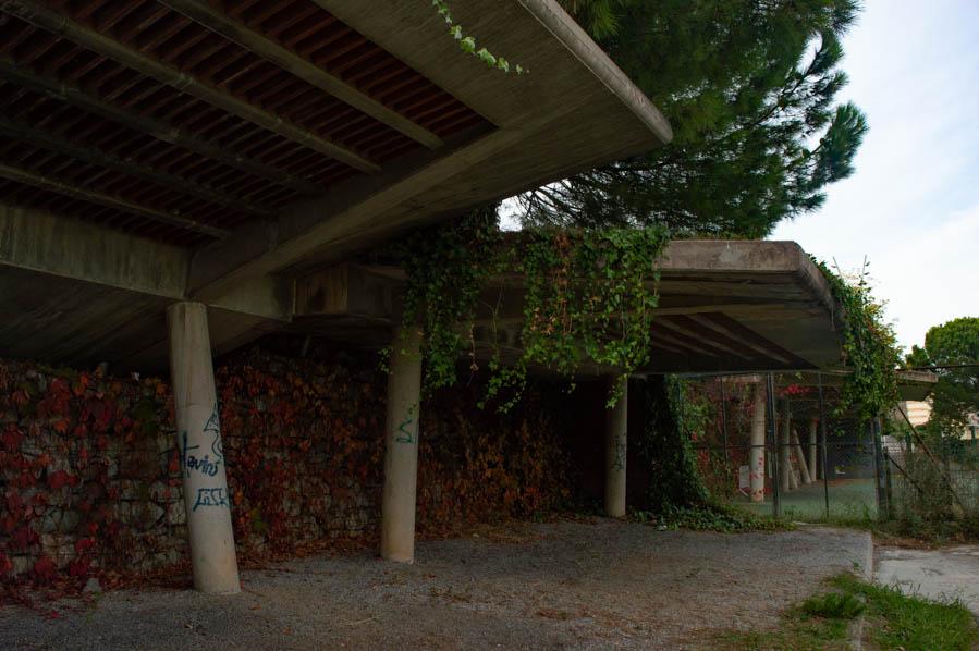 Antiguas instalaciones olímpicas de tiro con arco