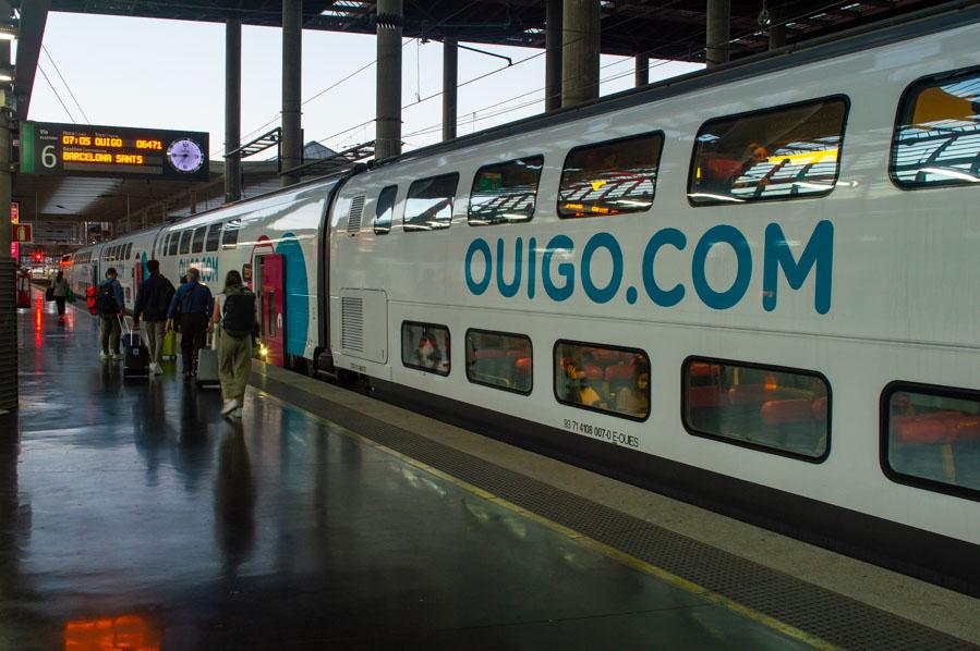 tren de dos pisos de OUIGO