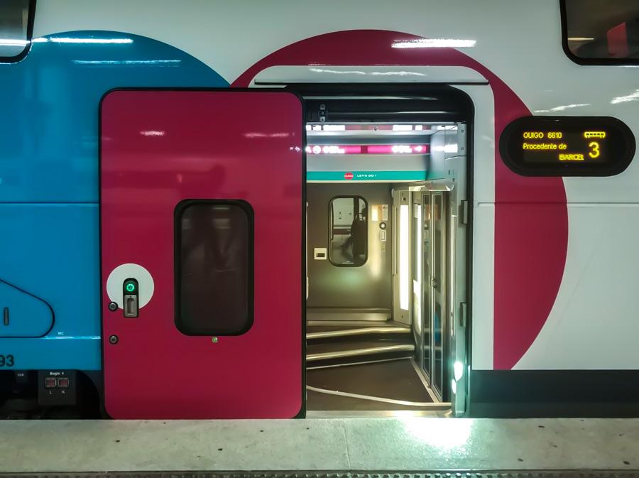 Los trenes de dos pisos de OUIGO