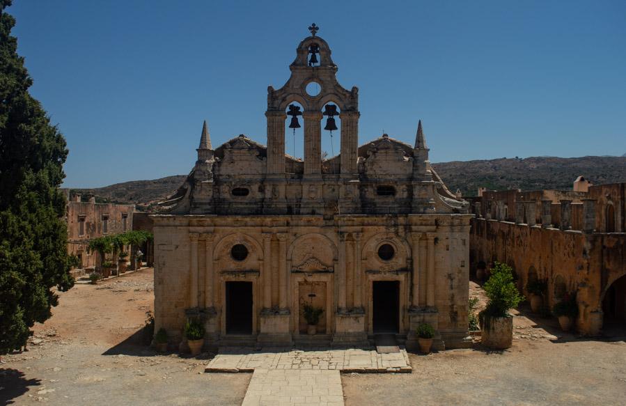 El monasterio de Arkadi en Creta